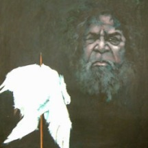 Clifford Possum`s WILL denied in 2002 Artists: Milanka J Sullivan .. An unfinished painting 2002
