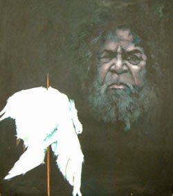 Clifford Possum`s WILL denied in 2002 Artists: Milanka J Sullivan .. An unfinished painting 2002