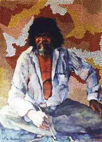 Portrait of a Master Aboriginal Artist: Clifford Possum Tjapaltjarri by Milanka J Sullivan and Clifford Possum Tjapaltjarri