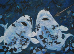 Beluga Whales 2014 Artist: Mosmeri