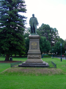 James White, Memorial to George Lansell